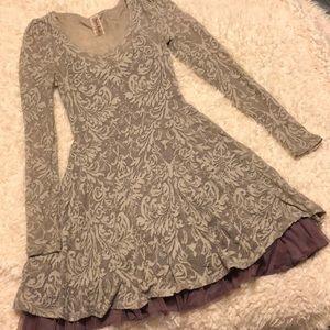 Free People Long-sleeve Dress